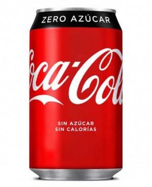 Coca Cola Zero Lata 33 cl.