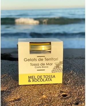Helado Miel de Tossa & Chocolate