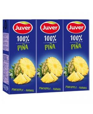 Zumo Disfruta Sin Azúcar Juver Piña 3x200ml