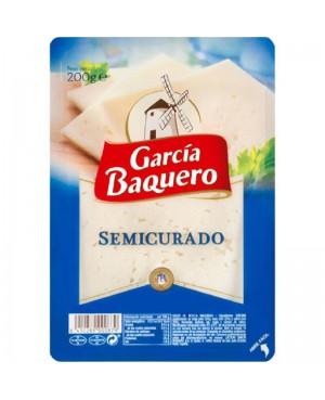 García Baquero Semicurado Lonchas 200 g.