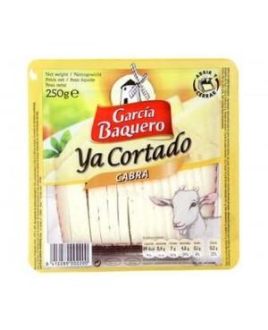 Queso García Baquero Cabra Cuña Cortado 250g.