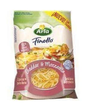 Queso Rallado Arla Mozzarella 150g.