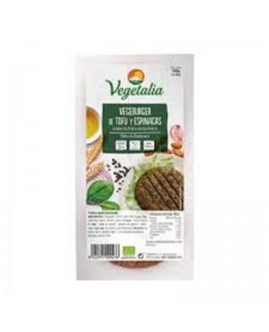 Hamburguesa Tofu+Espinacas Bio Vegetalia 160g