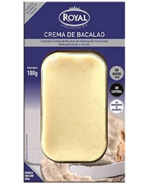 Crema De Bacalao Royal 100 g.