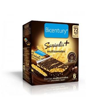 Sarialis Bicentury Chocolate Negro 120g. 6 u.