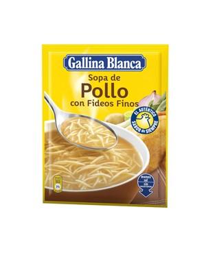 Sopa Sobre Pollo y Cabello de Angel Gallina Blanca