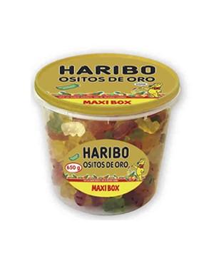 Haribo Ositos Oro Tarrina 220 g