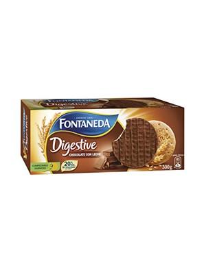 Galleta Digestive Fontaneda Choco / Leche 300 g