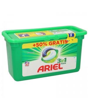 Detergente Ariel Capsulas 43 S.