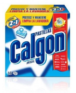 Calgon Antical 2 en 1 Pastillas 15 Un.