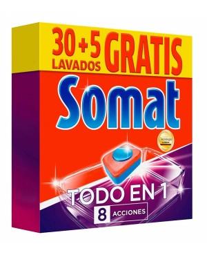 Somat Vajillas Todo En 1 Caps 30+5 S.