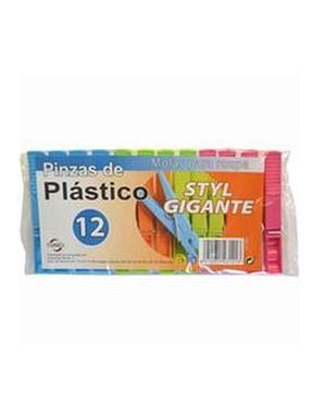 Pinzas Plastico Gigante 88 Styl 12 U