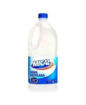 Aigua Destil.Lada Dac/Mical 2 Litres