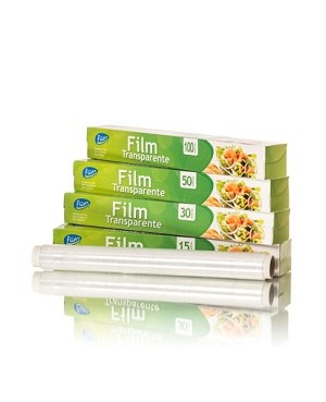 Film Transparent 30 M Fliss