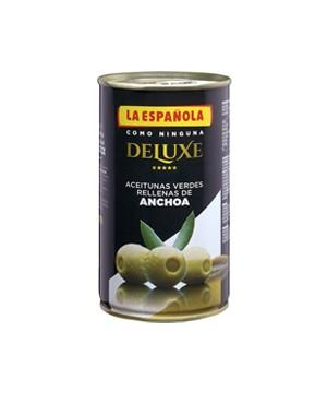 Olives de Luxe Farc Anxova Espanola 150g
