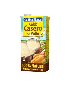 Caldo Casero Natural Pollo Gallina Blanca 1l