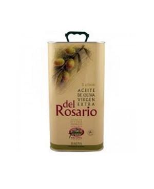 Aceite de Oliva Extra Virgen Rosario Lata 5L.