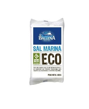 Sal Marina Eco La Ballena 800 g.