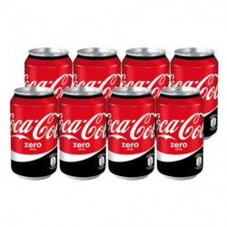 Coca-Cola Zero Latas (Pack8 x 33cl)