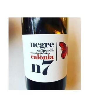 Vino Tinto Calónia n7 Macabeu 75cl D.O. Empordá