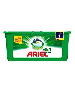Detergente Ariel Capsulas 28+3 Dosis