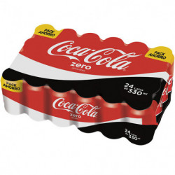 Coca-Cola Zero Latas (Pack24 x 33cl)