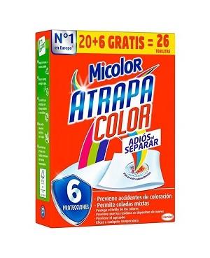 Tovalloletes Atrapacolor Micolor 20 unidades