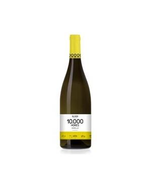 Vino Blanco 10.000 Hores Blanc Xarel 75cl D.O. Penedés
