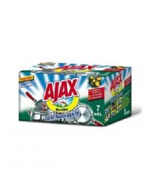 Estropajos Ajax 7 Unidades.