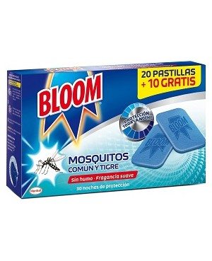 Bloom Electrico. Recarga Pastillas 20+10