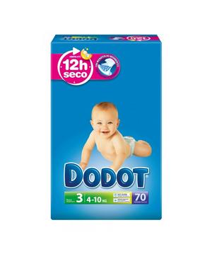Dodot Azul T3. 70 U. 5/10 Kg