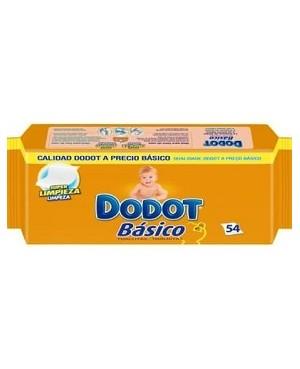 Toallitas Dodot Basic Rec. 54 Unidades.