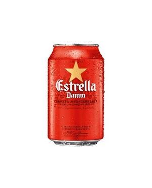 Cerveza Damm Estrella Lata 33 cl.