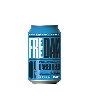 Cerveza Damm Free Lata 33 cl.