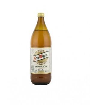 Cerveza San Miguel 1 L. Env. Perdut