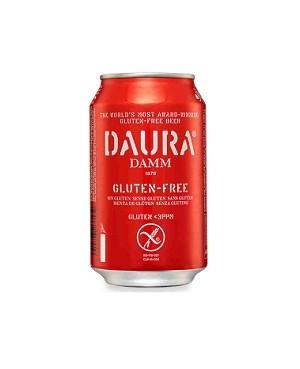 Cerveza Sin Gluten Daura Lata 33 cl.