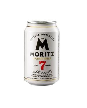 Cerveza Moritz 7 Lata 33 cl.