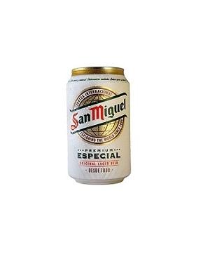Cerveza San Miguel Lata 33 cl.