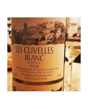 Vino Blanco Les Clivelles Carinyena 75cl D.O. Priorat