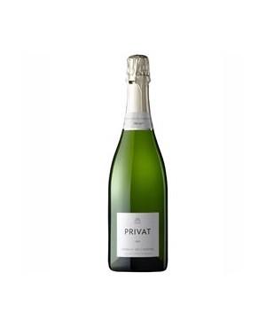 Vino Blanco Privat Brut Nature Perelada Macabeu 75cl D.O. Cava