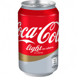 Coca-Cola Light Sin Cafeína Lata 33cl