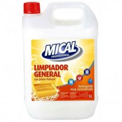 Limpiador General Mical Jabón Natural 5L