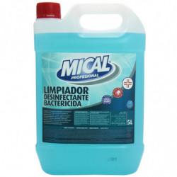 Limpiador Mical Desinfectante Bactericida 5L