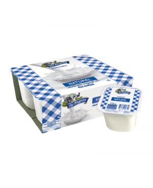 Yogurt Natural La Fageda 4x125 g.