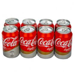 Coca-Cola Light Sin Cafeína Latas (Pack8 x 33cl)