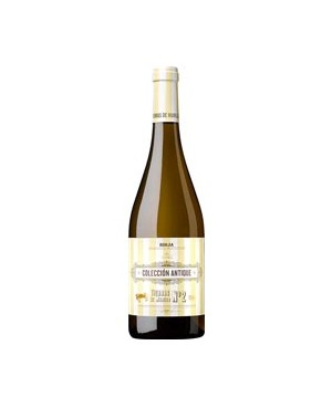 Vino Blanco Colección Antique n2 Viura 75 cl D.O.C. Riojas