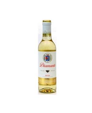 Vino Blanco Diamante Semi Franco Española Viura 37,5cl D.O.C.Rioja