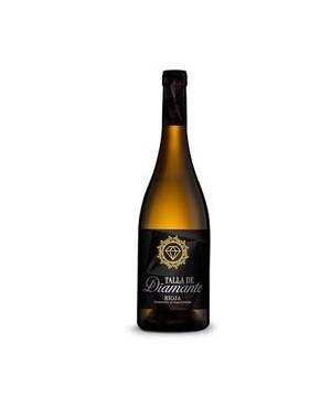 Vino Blanco Talla de Diamante Semi Franco Española Viura 75cl D.O.C.Rioja