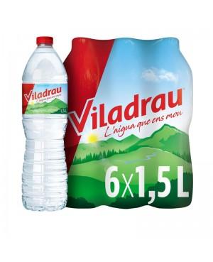 Agua Viladrau 1.5 L. Un Palet