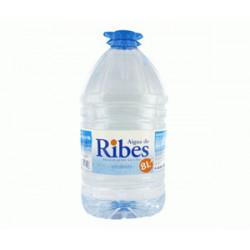 Agua Mineral Natural de Ribes Garrafa 8L
